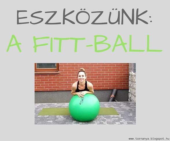 TornAnya: FITT-BALL EDZÉSTERV
