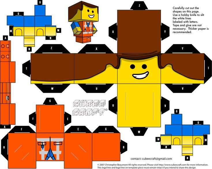Emmet Cubeecraft by JagaMen.deviantart.com on @DeviantArt
