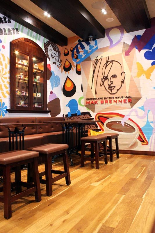 Max Brenner Lakeside Joondalup  #Max #Brenner  #Shop #Chocolate #Chocolatier #Retail #Design #Graphic #Illustration #Sweet #Candy