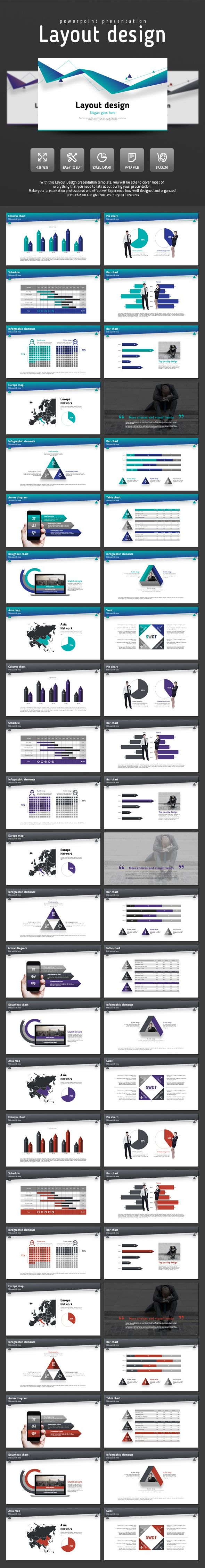 Layout Design PowerPoint Template #design #slides Download: http://graphicriver.net/item/layout-design/14033671?ref=ksioks