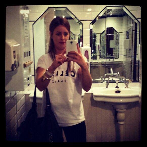 Celine selfie
