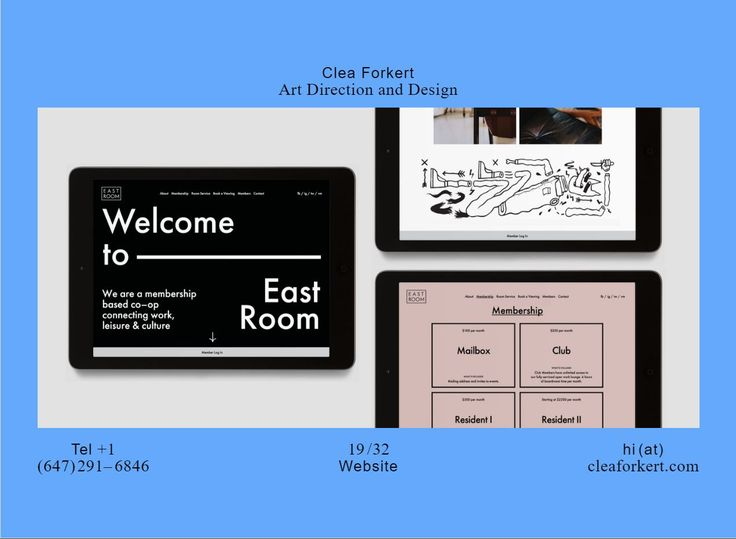 Clea Forkert awesome website