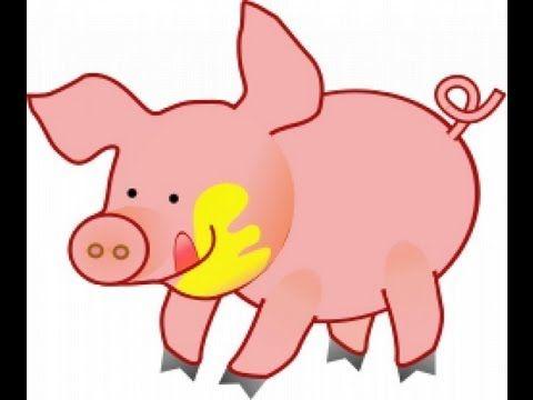 Los animales de granja y sus sonidos. Caricaturas educativas para niños en español. Learn Spanish - YouTube