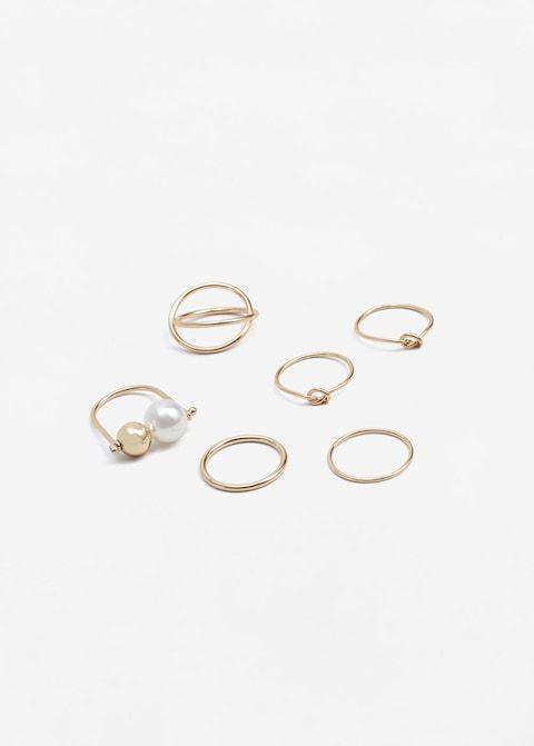 Set anelli sottili