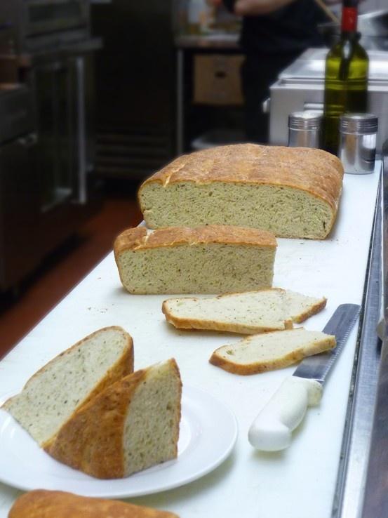Fresh Thyme & Kefalotyri cheese focaccia bread