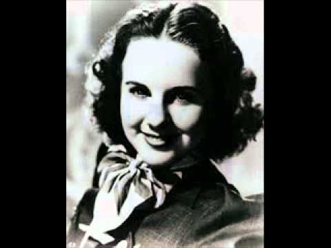 """Artists: Deanna Durbin. The maturity of her voice is remarkable here. """"Maxwelton's braes are bonnie, Where early fa's the dew, 'Twas there that Annie Laurie Gi'ed me her promise true. Gi'ed me her promise true - Which ne'er forgot will be, And for bonnie Annie Laurie I'd lay me down etc etc"""
