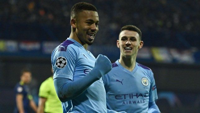 Gabriel Jesus Aiming To Build On Special Hat Trick In Man City S Win Over Dinamo Zagreb Uefa Champions League Champions League League