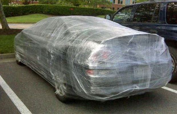 Filling a Car with Shredded Paper, Ping Pong Balls or Packing Peanuts - 10 Harmless, But Awesome, Car Pranks | Complex UK