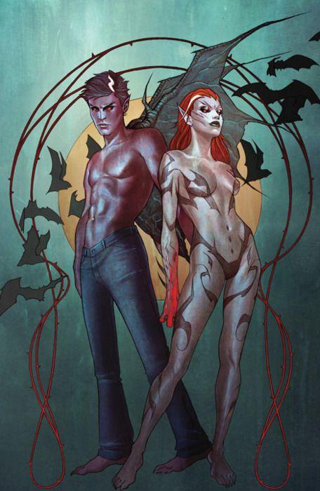 I, Vampire by Andrea Sorrentino