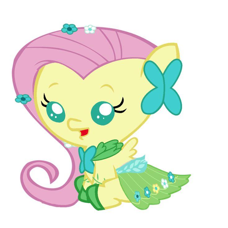 Baby Fluttershy's Gala Dress by Beavernator.deviantart.com on @deviantART
