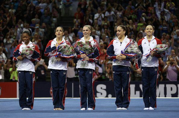 2012 U.S. Olympic Gymnastics Team. Congratulations!