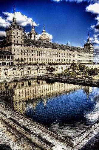 El Escorial monastery, Madrid, Spain.
