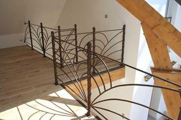 Balcon int rieur en fer forg garde corps rampe d 39 escalier pinterest balcon int rieur Garde corps en fer forge pour escalier
