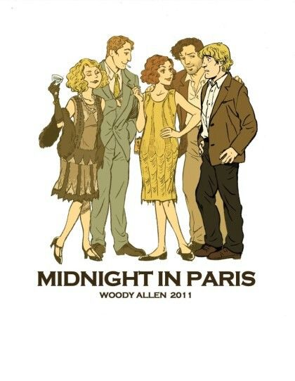 #Illustration #film #midnight in paris #Lee kyounghee