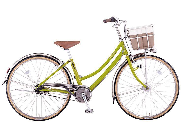 """自転車通販 サイクルヨシダ - ミヤタ プレミアムミヤタ 27"""" DPM73LB51 シティサイクル"""
