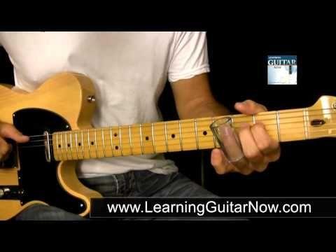 Open G Tuning Slide Guitar Lesson
