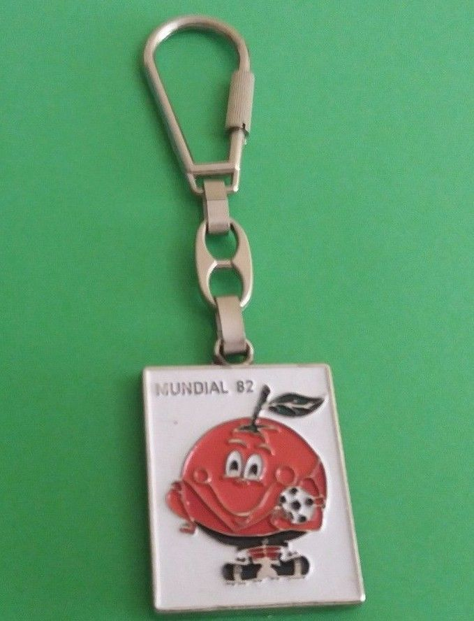 Naranjito Mundial España SPAIN 82 Vintage Retro - KEY CHAIN Keychain key ring   | eBay