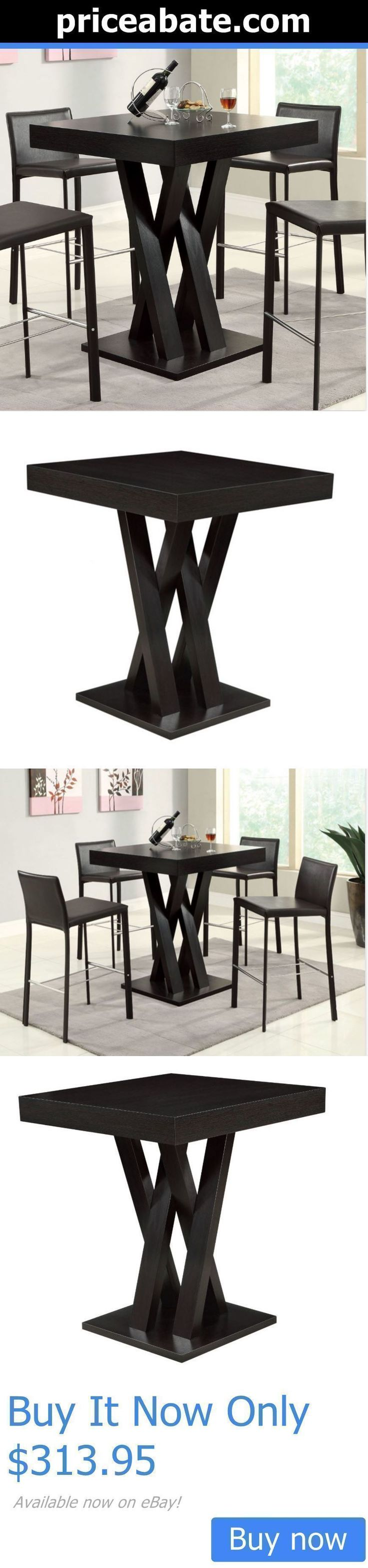 furniture: High Top Table Bar Height Dining Room Furniture Kitchen Counter Coffee BUY IT NOW ONLY: $313.95 #priceabatefurniture OR #priceabate