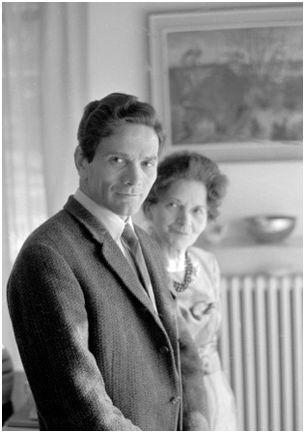 Mario Dondero. Pasolini et sa mère