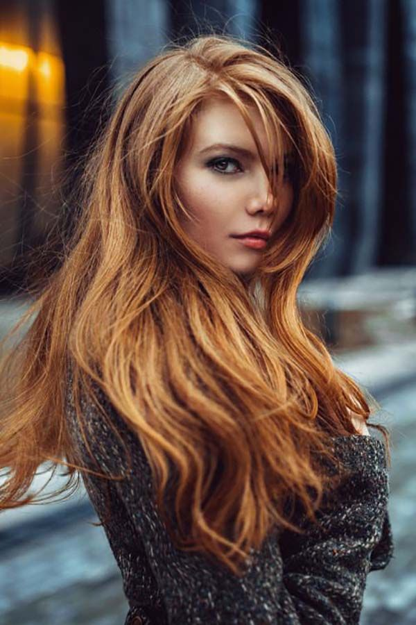 Natural Red Brown Hair Color