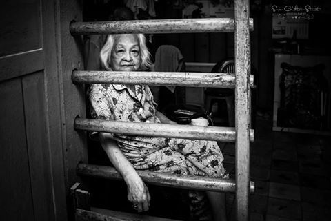 An Old Woman's Stories, back streets of Cholon in Ho Chi Minh, Vietnam ~ Susan Crichton-Stuart