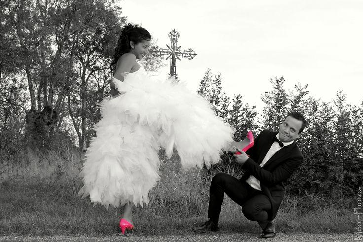 mariage à la campagne, on aime ces mariés décomplexés et délirants !