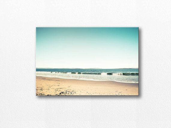 beach canvas art nautical decor photography by mylittlepixels