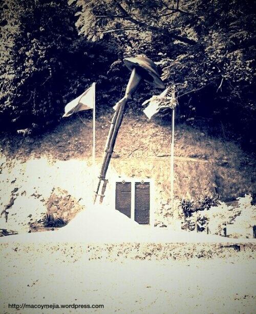 Kilometer Zero of Death March World War II, Mariveles, Bataan, Philippines