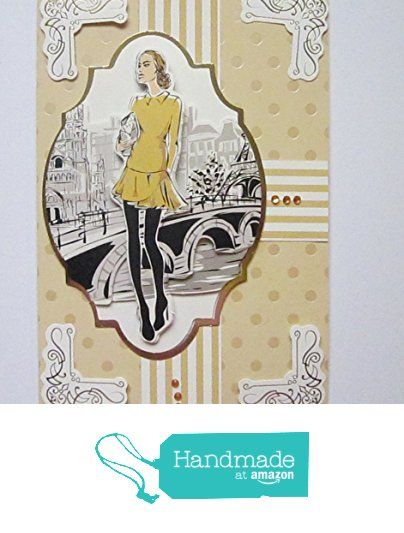City Chic Greeting card from SUSAN ANNE - Handcrafted Cards and Gifts https://www.amazon.co.uk/dp/B06X1DQZYT/ref=hnd_sw_r_pi_dp_KYEQyb7NEBG9A #handmadeatamazon
