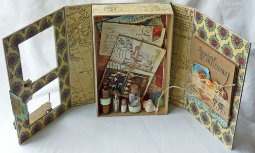 Altered Art Box.