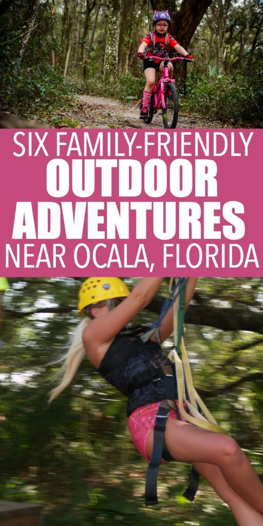 6 outdoor adventures your family will love in #OcalaMarion County Florida Ad