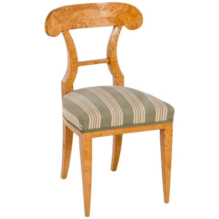 Karelian Birch Russian Chair | From a unique collection of antique and modern side chairs at https://www.1stdibs.com/furniture/seating/side-chairs/