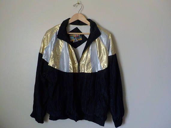 Vintage WIND BREAKER JACKET Womens Swish Jacket   https://www.etsy.com/listing/526277383/vintage-wind-breaker-jacket-womens-swish #jacket #women #windbreaker #vintage #retro