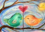 Our Paintings at Merlot2Masterpiece Painting Parties