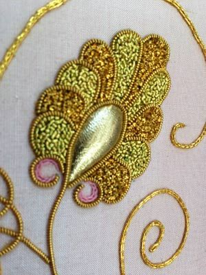 Goldwork2web  Goldwork embroidery uses a wide variety of metal threads including gilt copper and silver.