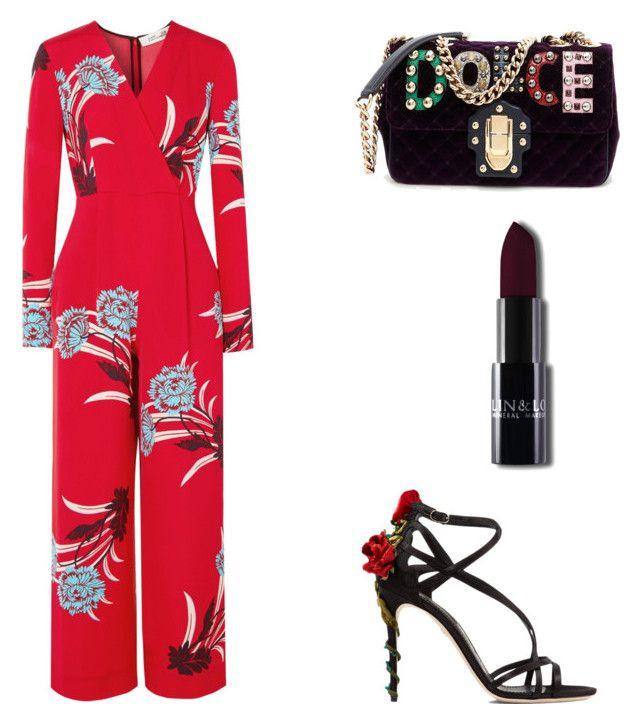 """""""Untitled #132"""" by dariatamasan on Polyvore featuring Diane Von Furstenberg and Dolce&Gabbana"""