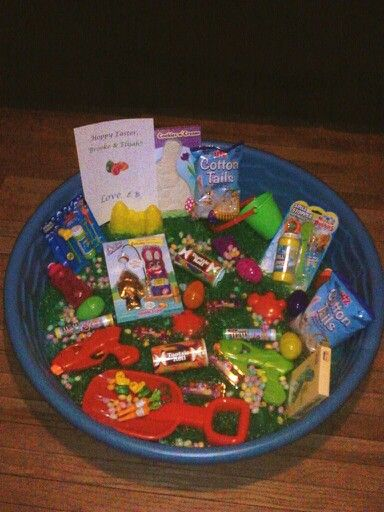 219 best easter baskets images on pinterest easter easter kiddie pool easter basket fill er up with summer fun and negle Gallery