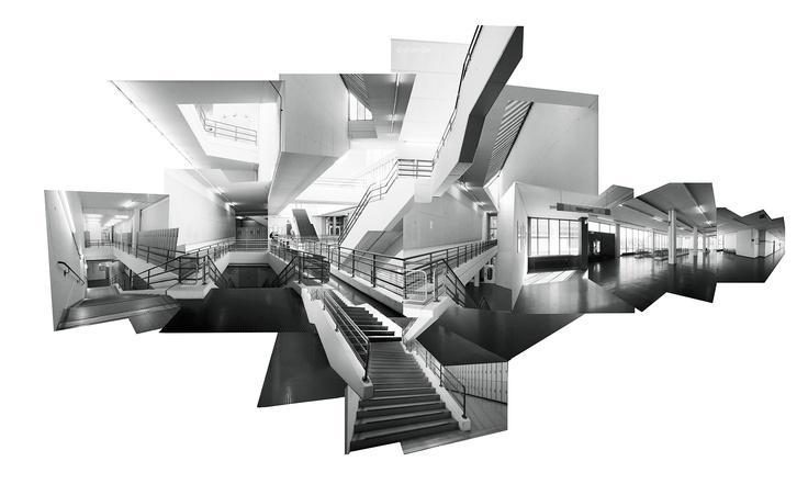 Fotocollage Uni Bielefeld
