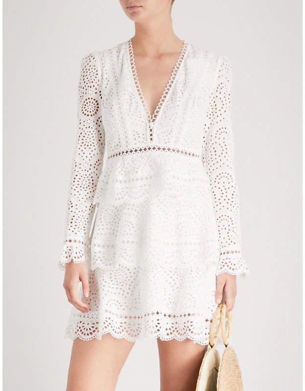 13de63091b Zimmermann Bayou tiered swirl cotton dress