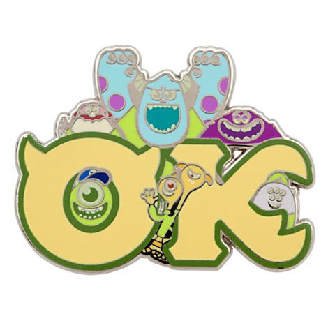 OK Fraternity Pin - Monsters University | Pin trading