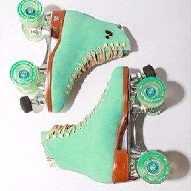 I loved roller skating - tried it a few years ago and bruised my tailbone so bad I swore I would never do it again...it's sad getting old! :)