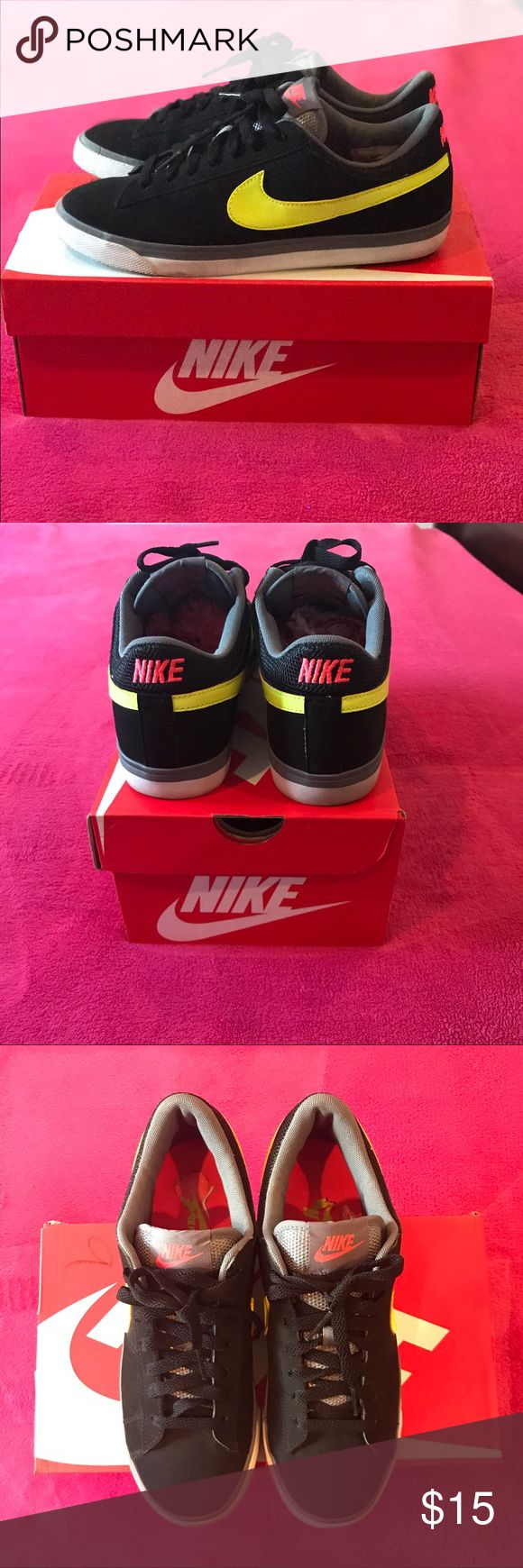Nike Shoes Nike Shoes                                                                                                               Black, Gray, Pink & Neon Green | Size 8.5 in Women's | Willing to Negotiate | No Trades Nike Shoes Sneakers