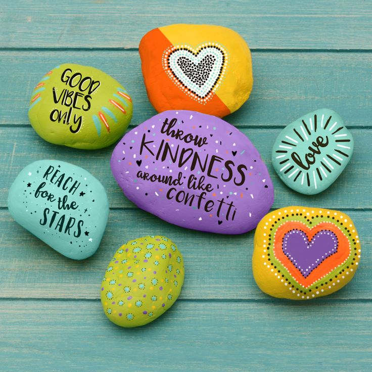 Find all of the paint and markers you need in every color to make the best painted rocks for your yard at A.C. Moore! - rock painting - yard decorations - summer crafts - fun projects for kids - painting projects