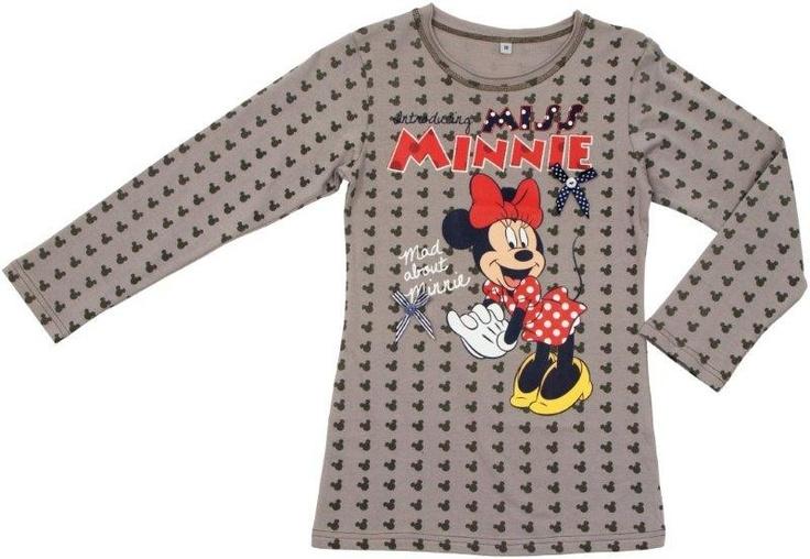 Mad About Minnie Maglia a Maniche Lunghe per Bambina fino a 12 anni, Abbigliamento Disney Invernale - TocTocShop.com - Ora In Saldo! $11,90