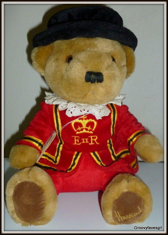 Harrods Knightsbridge Beefeater Teddy Bear 6 in Plush Royal Guard British #Harrods #Knightsbridge Beefeater #Teddy Bear
