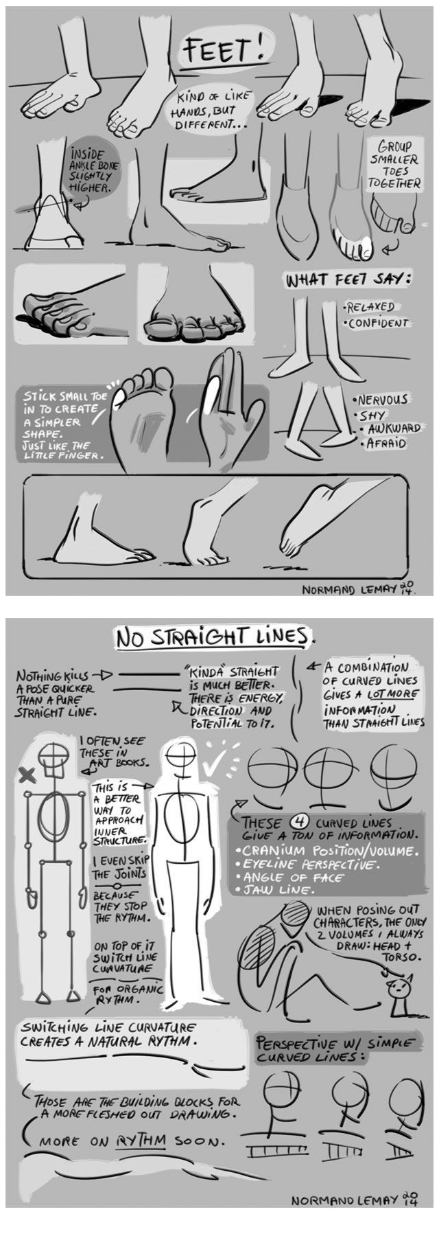 Drawing tips from Dreamworks Animation's Sastrawinata Grizelda, mainly for the cartoonists and animators but also for artists in other disciplines.