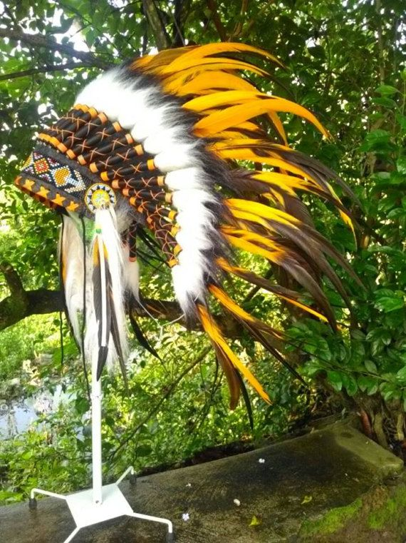 Indian style Headdress for kid/child Kids Warbonnet Native