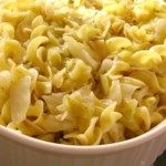 Haluski – Cabbage and Noodles Recipe – A simple side dish of baked noodles and c…