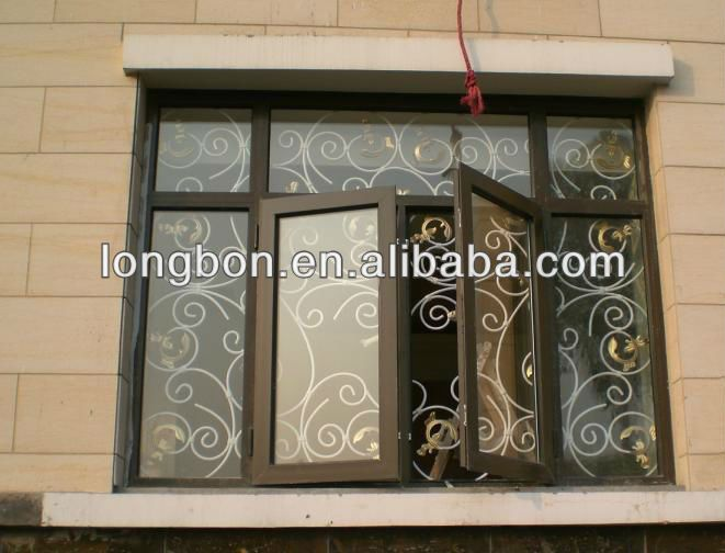 wrought iron grill for window