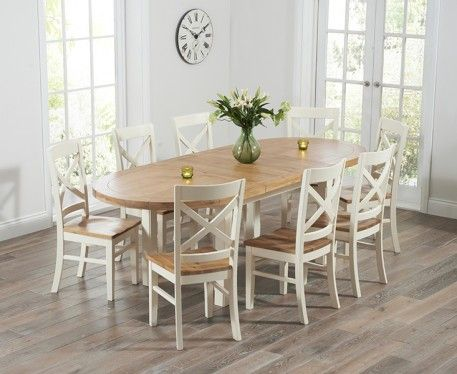 10 best images about oak cream dining sets on pinterest for 10 table cream